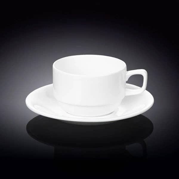7 Fl oz Tea Cup and Saucer   Trada Marketplace
