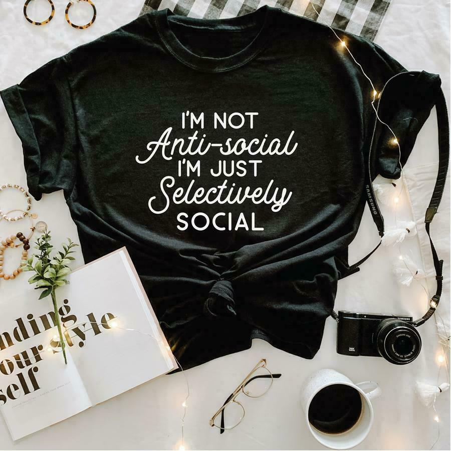 Anti Social Graphic Tee | Trada Marketplace