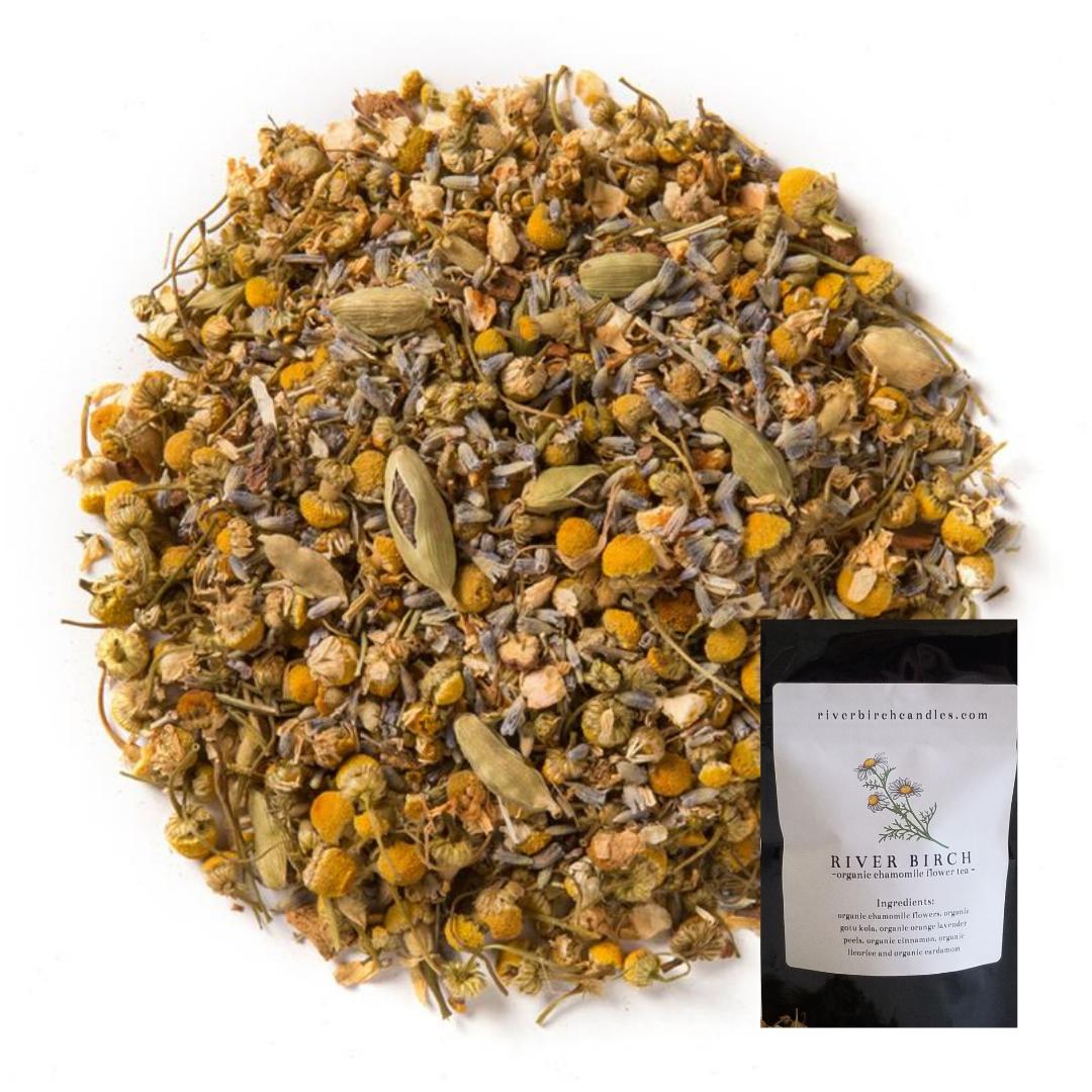 Organic Chamomile Flower Tea   Trada Marketplace