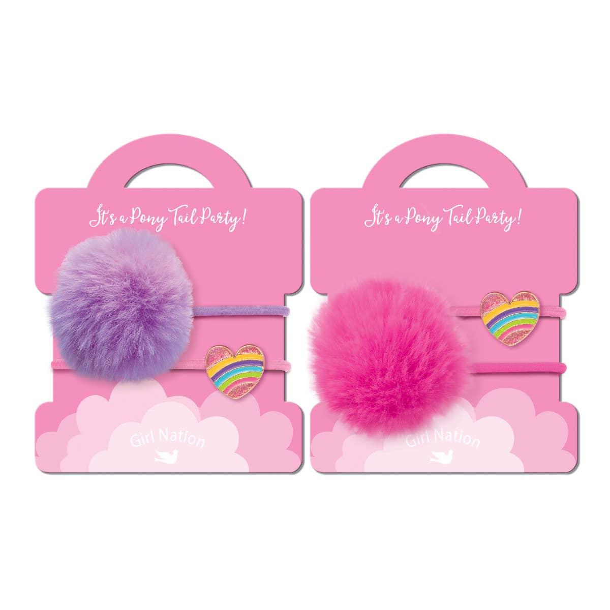 Pony Tail Whimsy- Rainbow Heart (NEW) | Trada Marketplace