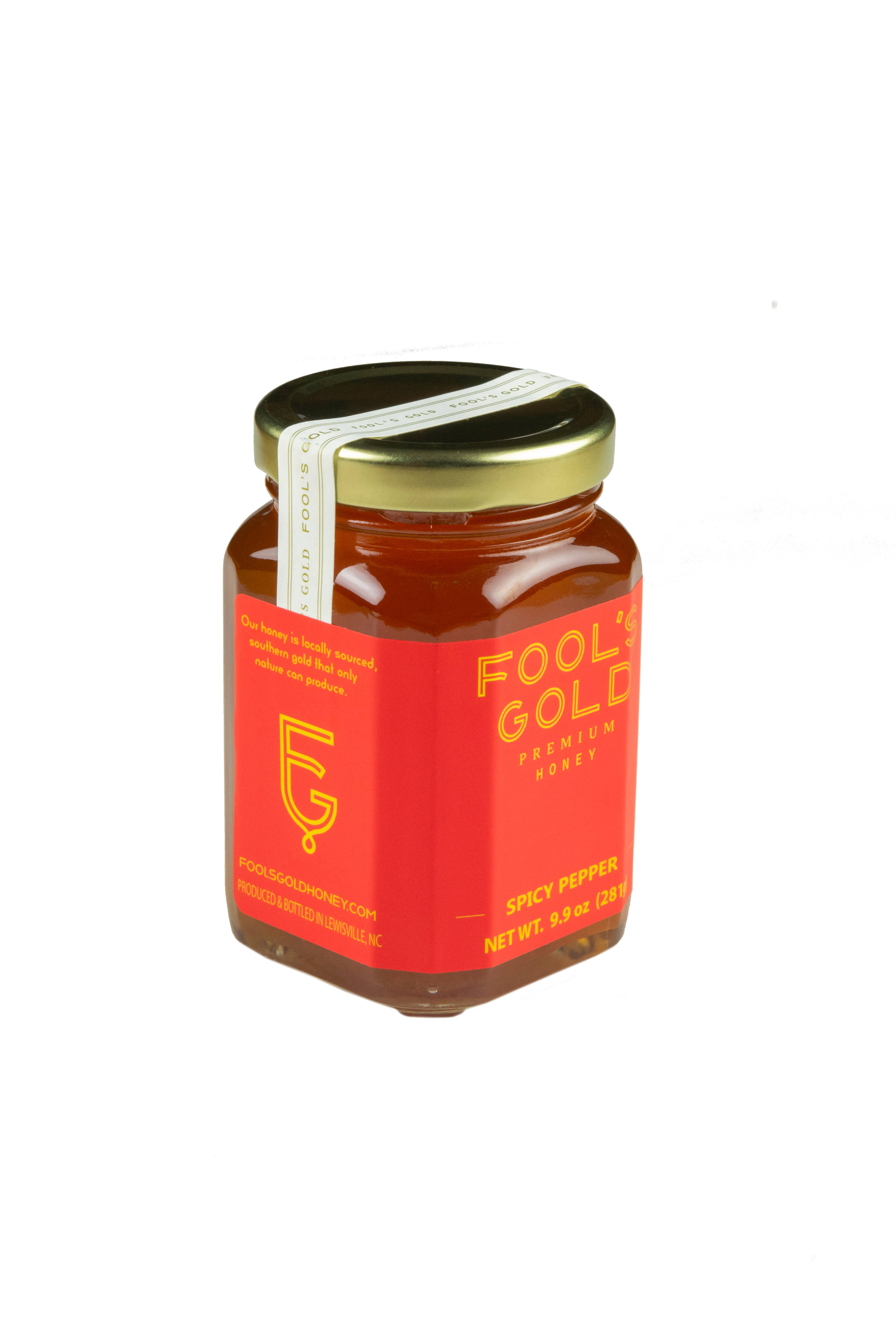 9.9oz Spicy Pepper Infused Honey | Trada Marketplace