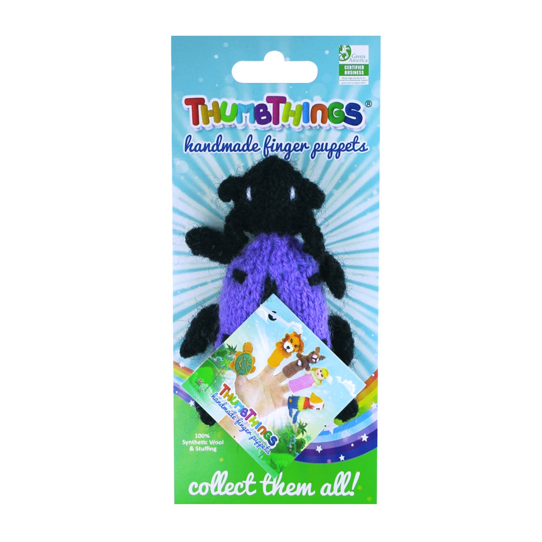 Purple Jewel Beetle Finger Puppet   Trada Marketplace
