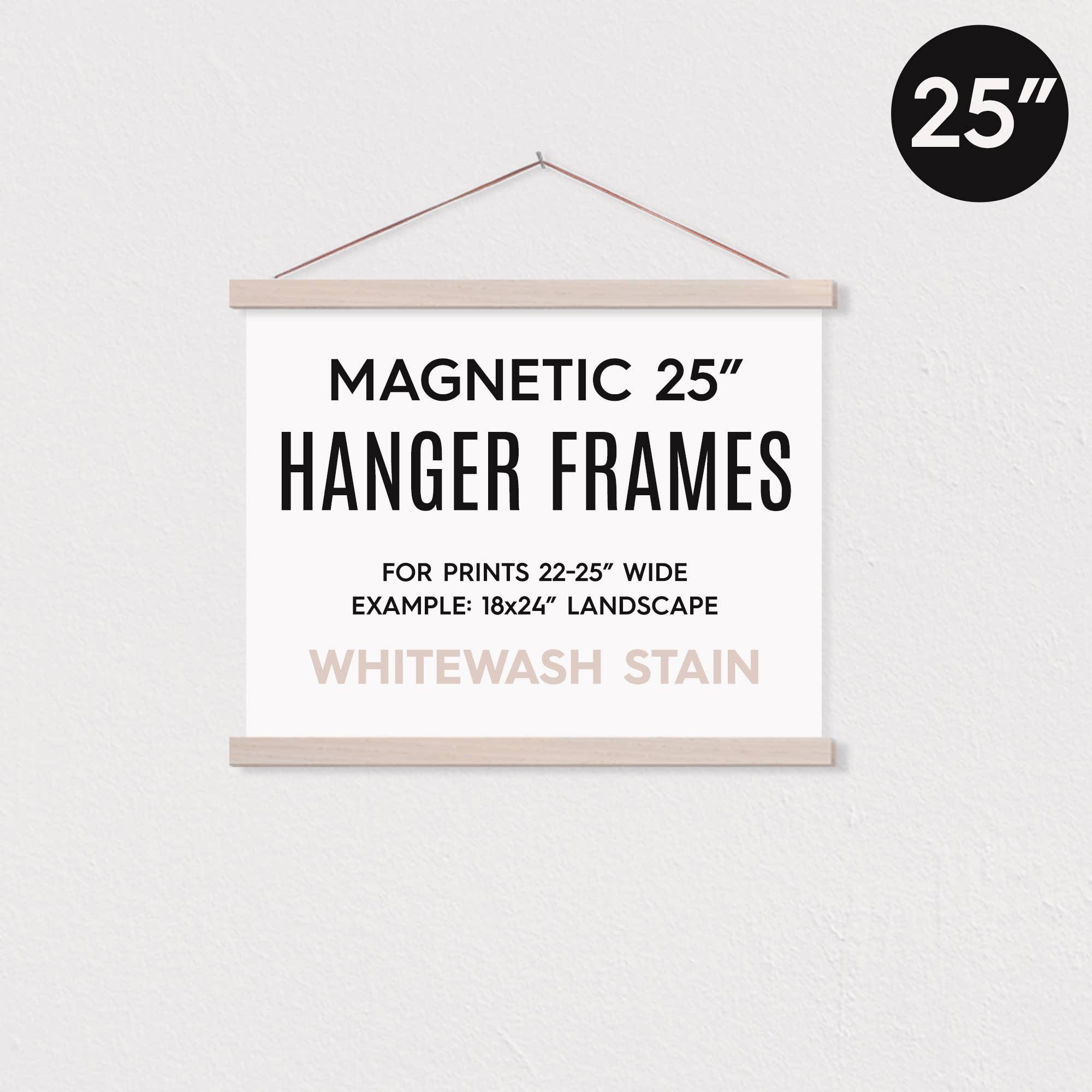 """25"""" MAGNETIC Poster Hanger Frame for 18x24"""" Landscape Prints   Trada Marketplace"""