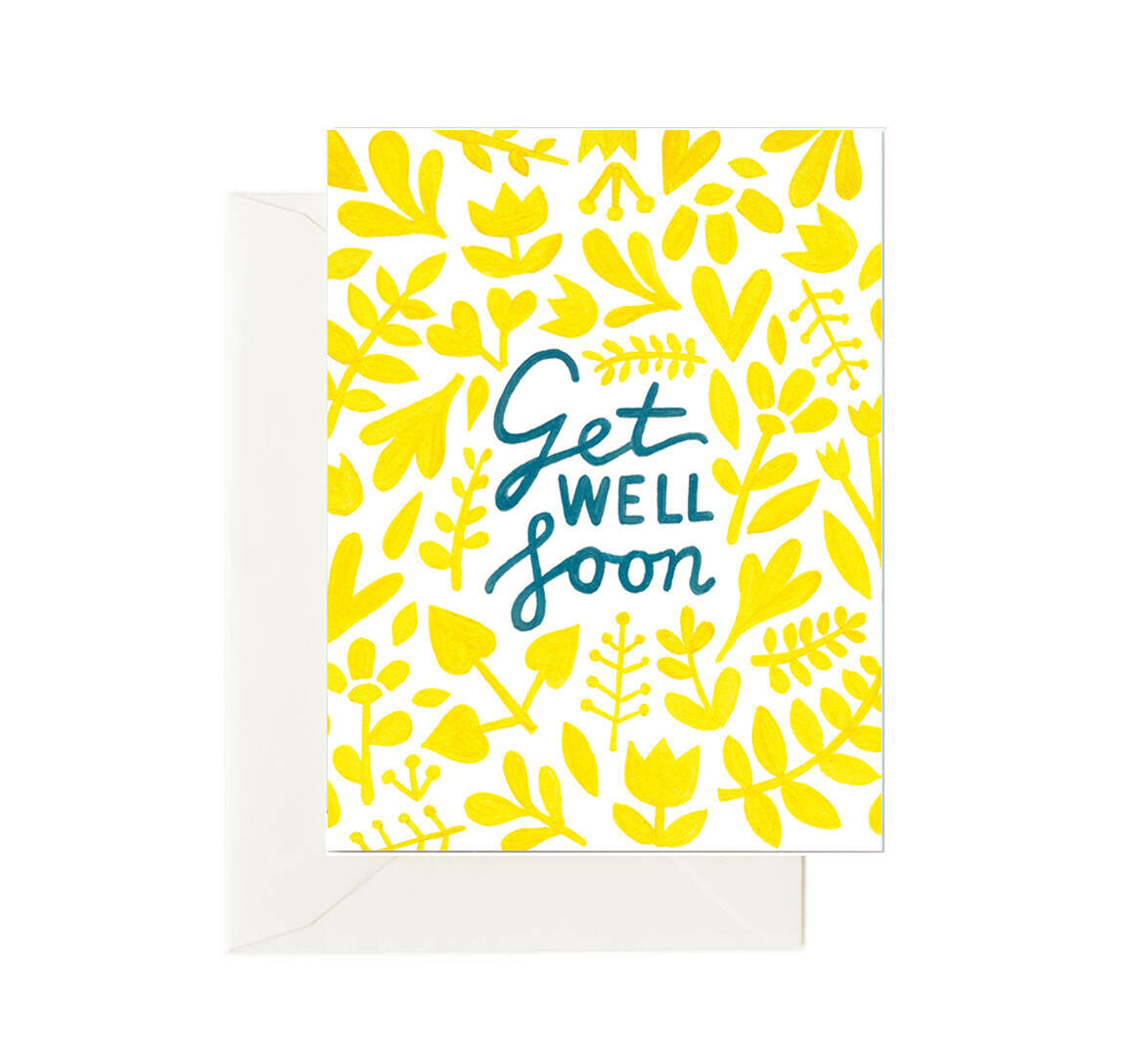 Get Well Yellows (Box of 8)   Trada Marketplace