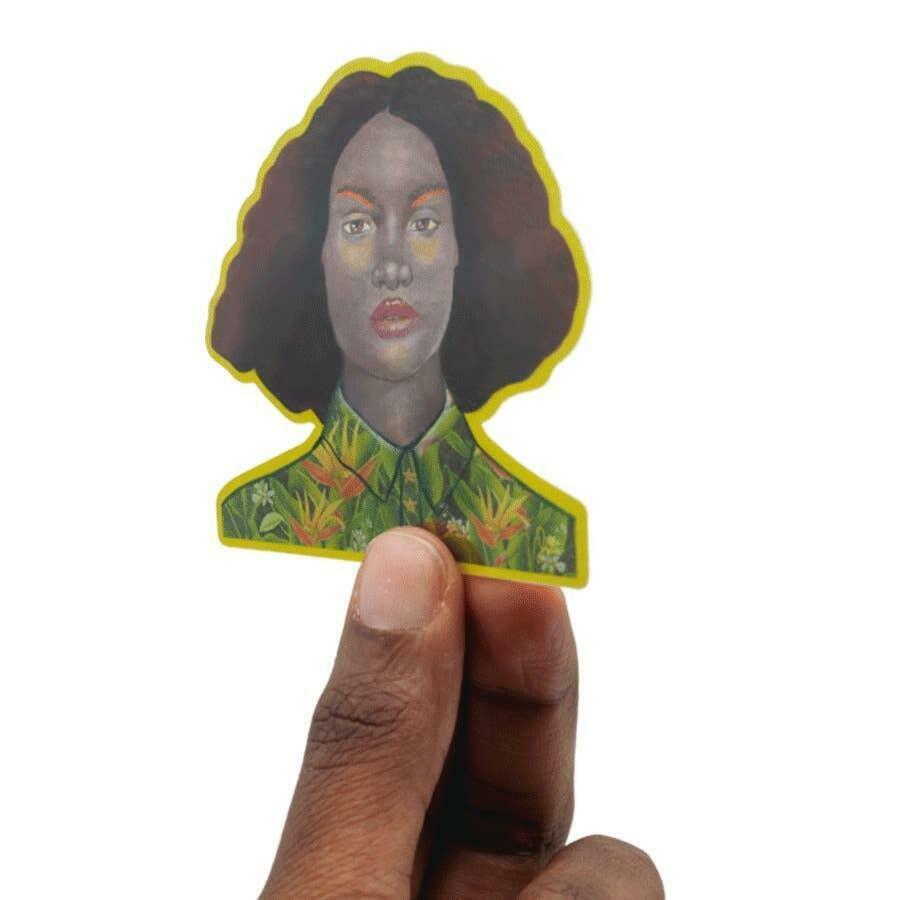 Portrait 8 Art Sticker | Trada Marketplace