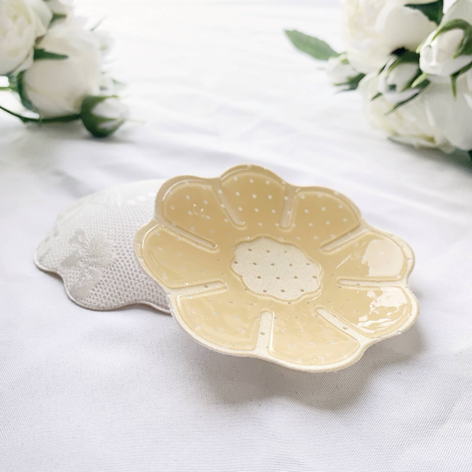 Flower Lace Nipple Cover - White | Trada Marketplace