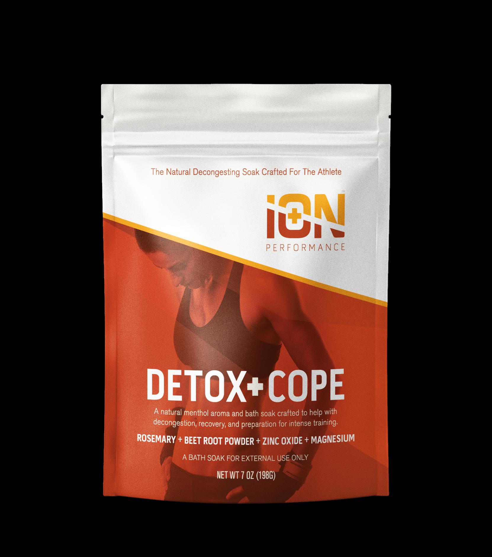 Detox + Cope Natural Menthol  Soak with Zinc, Mg & Rosemary | Trada Marketplace