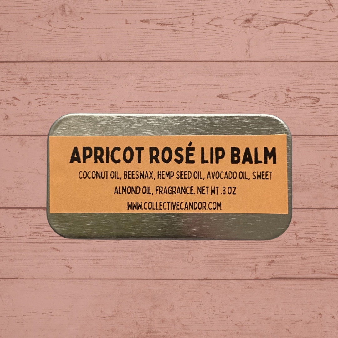 Apricot Rosé Hemp Lip Balm   Trada Marketplace