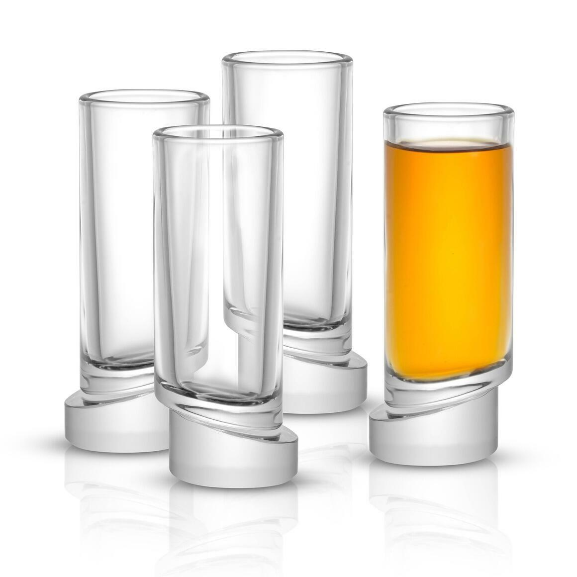 Aqua Vitae Round Shot Glass, 1.69oz (Set of 4)  | Trada Marketplace
