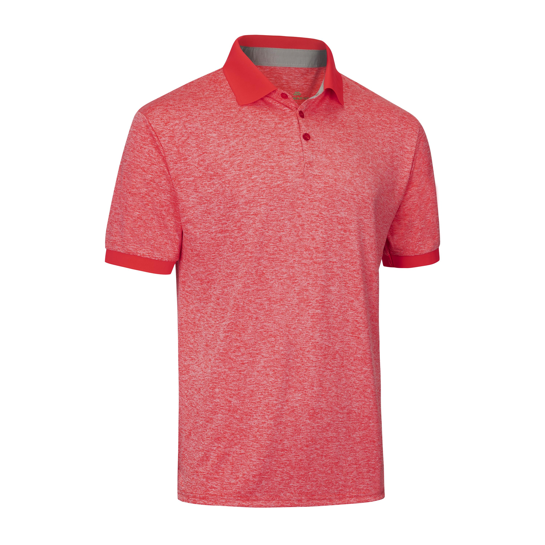 Designer Golf Polo Shirt Salmon Red | Trada Marketplace