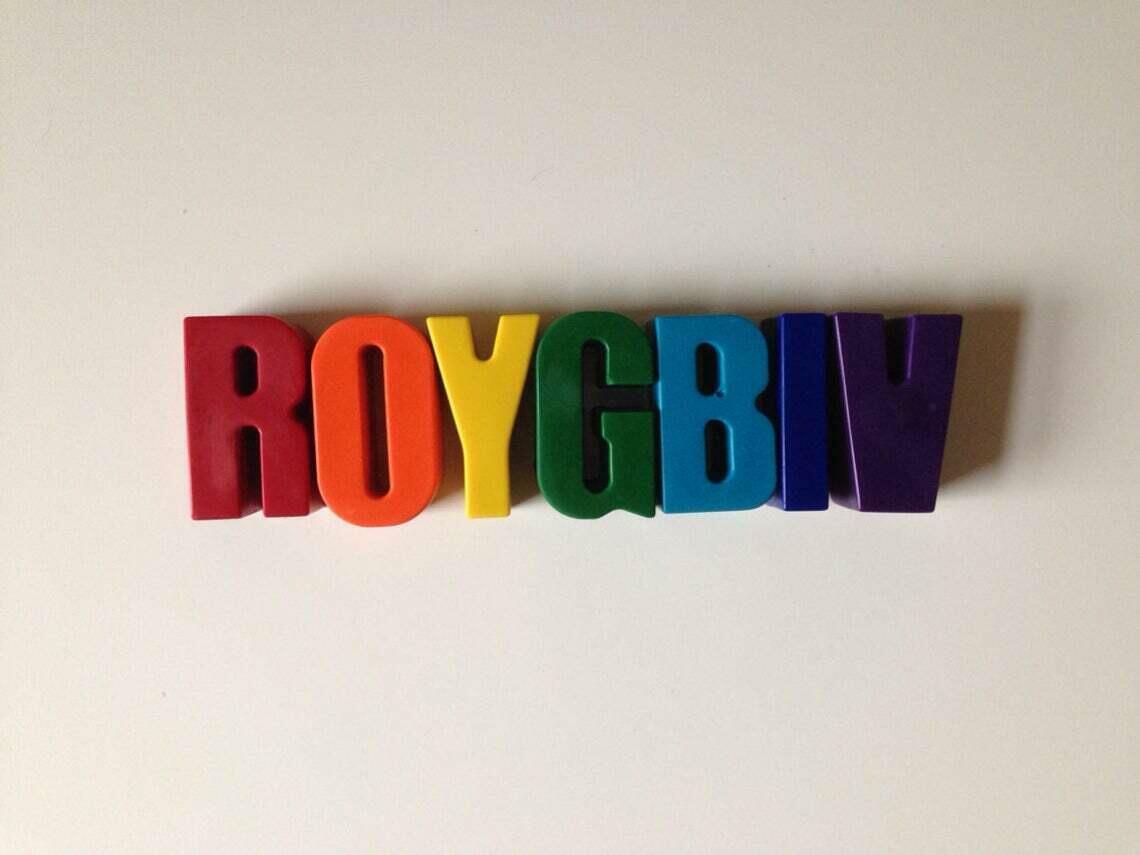 ROYGBIV Eco-Friendly Crayons | Trada Marketplace