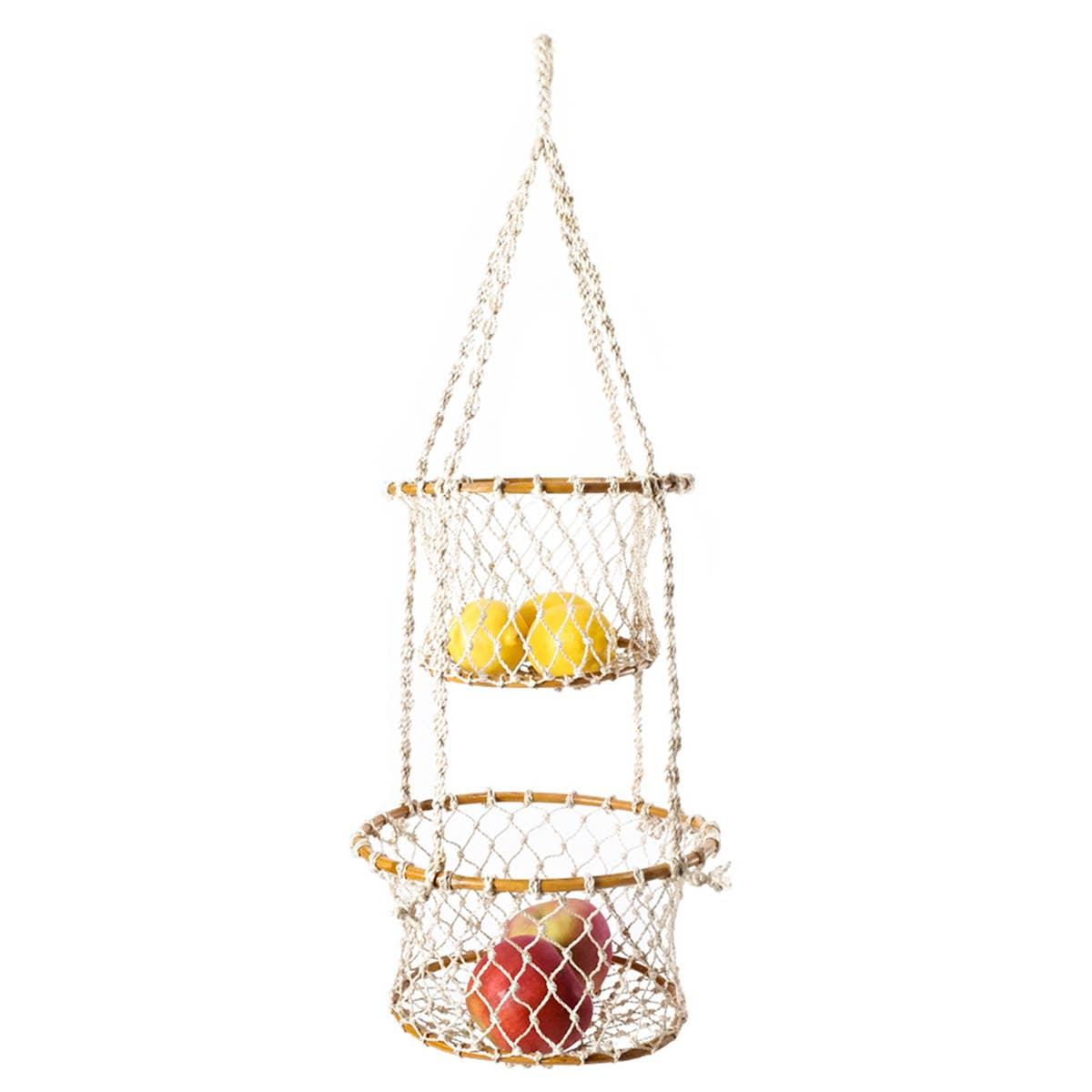 Jhuri Double Hanging Basket | Trada Marketplace