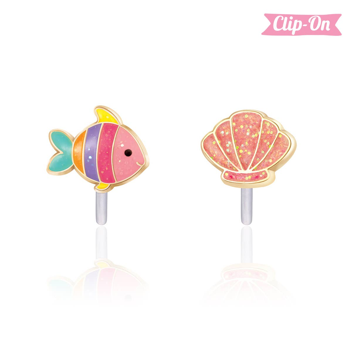 """""""The Perfect Pair""""- Under the Sea Clip-On Earrings   Trada Marketplace"""