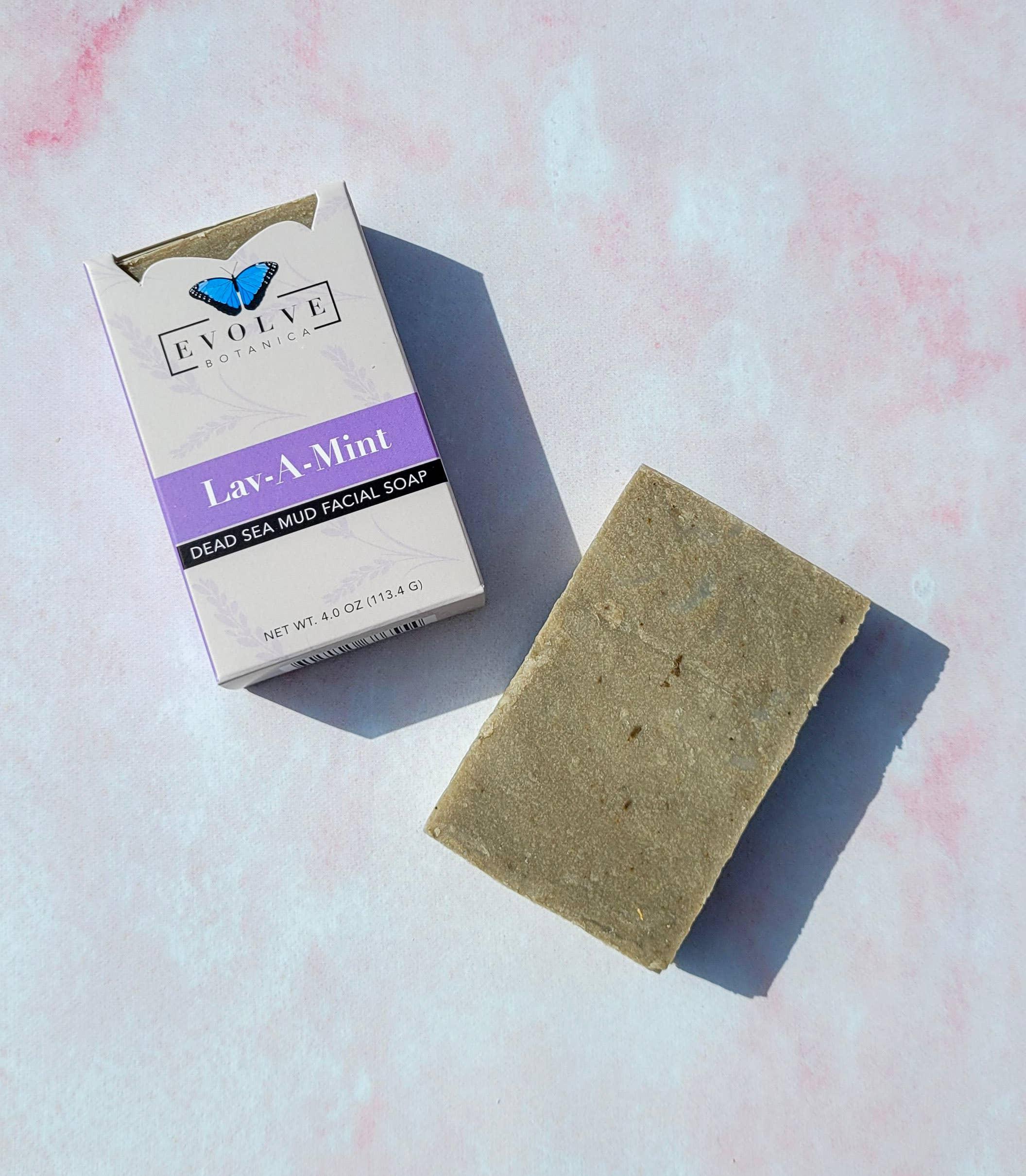 Evolve - Standard Soap - Lav-A-Mint Dead Sea Mud (Facial) | Trada Marketplace