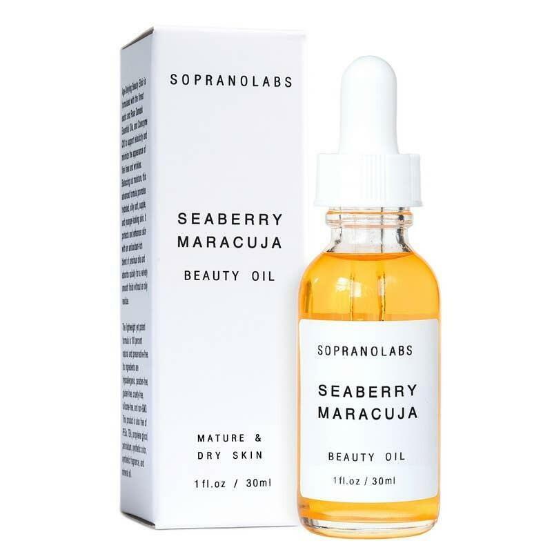 SEABERRY MARACUJA Vegan Organic Natural Beauty Oil Serum   Trada Marketplace