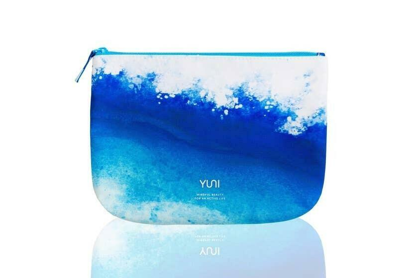 WAVE Blue Ombre Travel Bag   Trada Marketplace