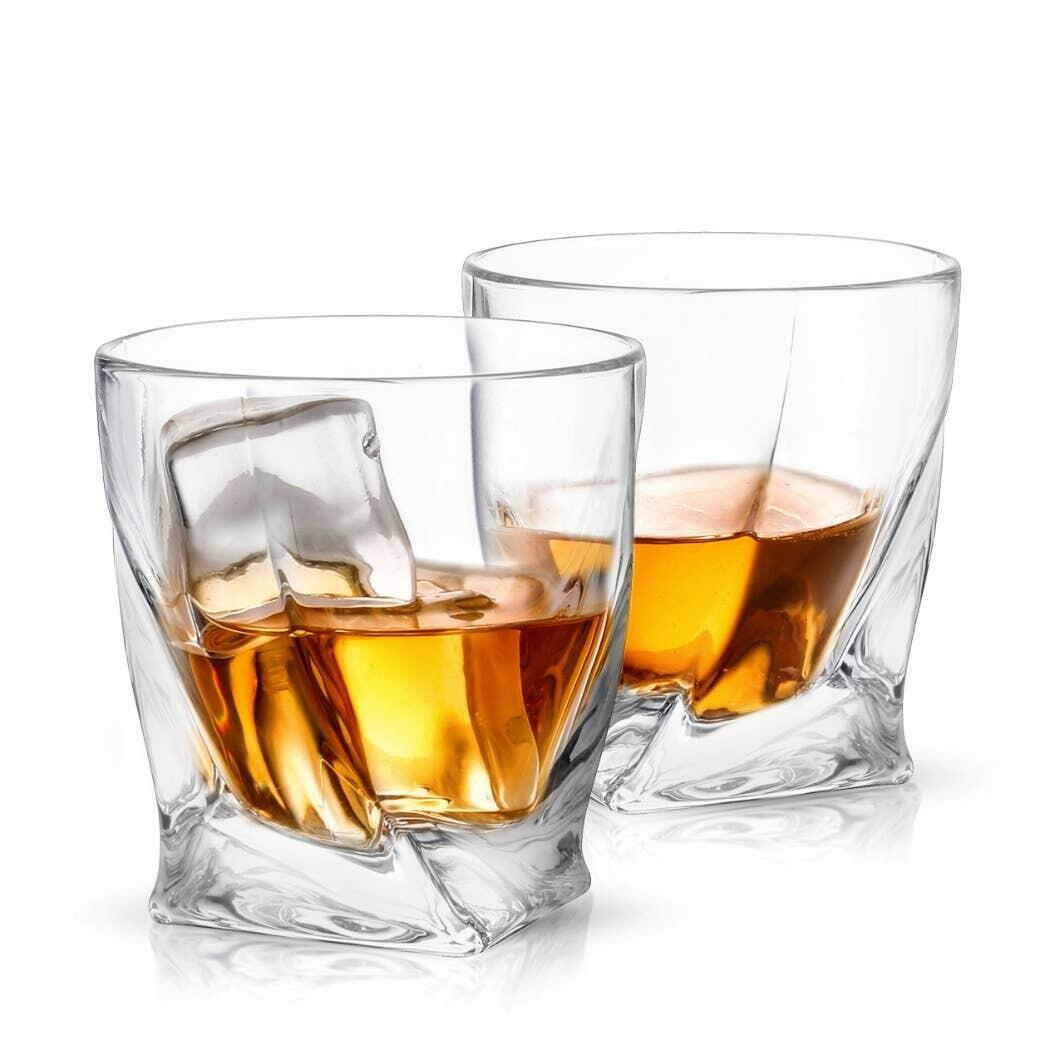 Atlas Whiskey Glass, 10.8oz (Set of 2)  | Trada Marketplace