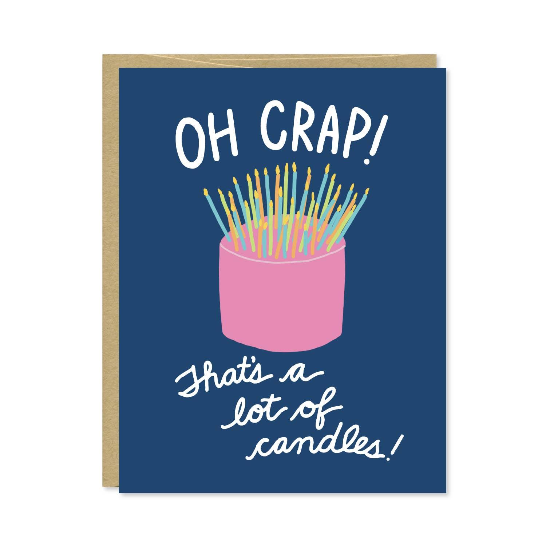 Candles Funny Birthday Card | Trada Marketplace