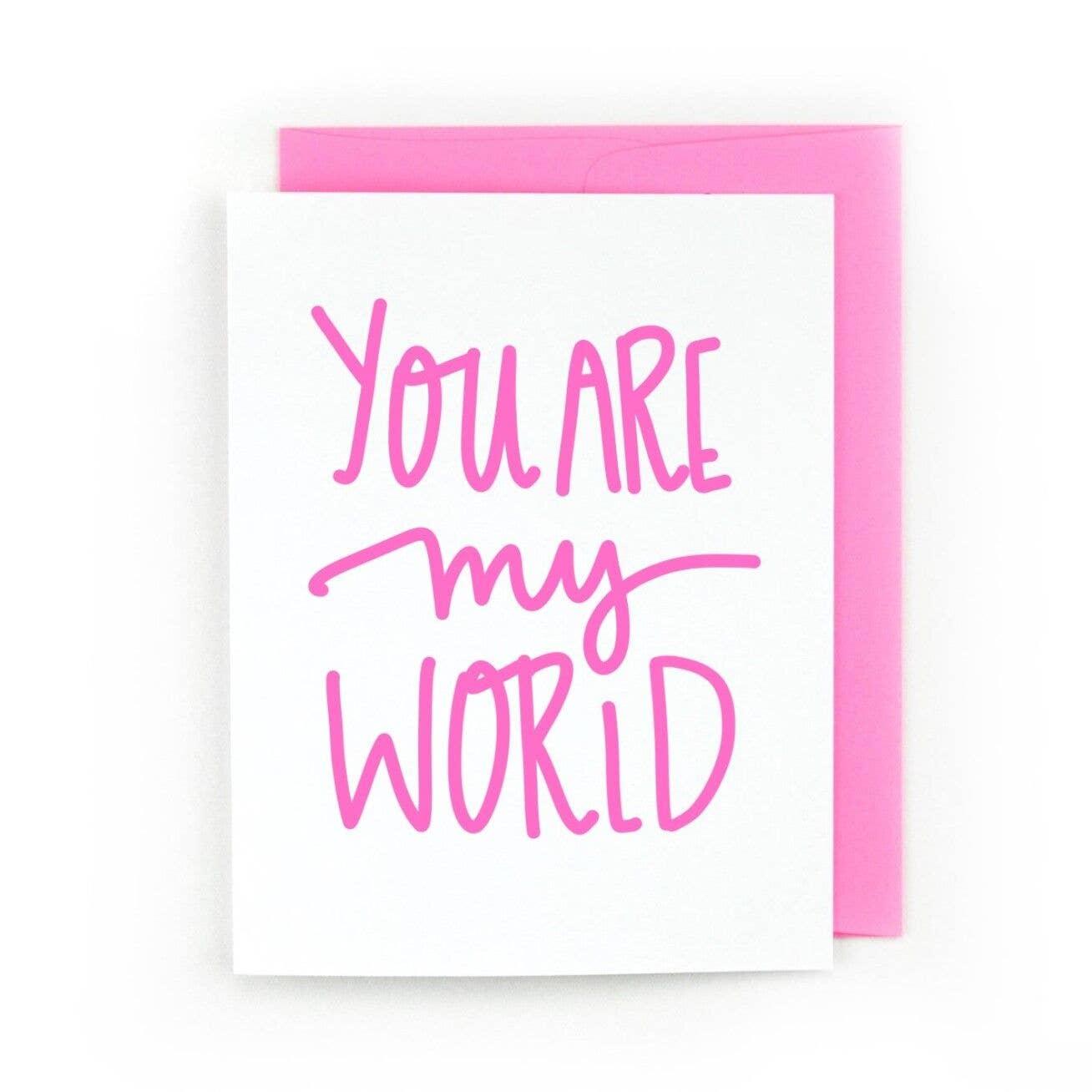 You Are My World | Trada Marketplace