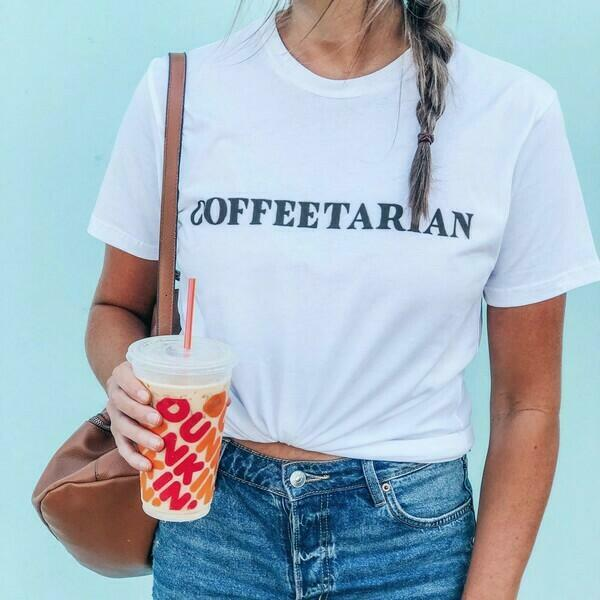 Coffeetarian Shirt   Trada Marketplace