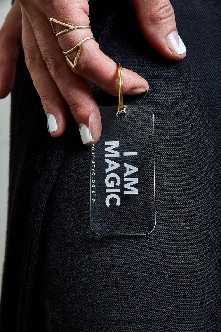 I am Magic - Keychain   Trada Marketplace