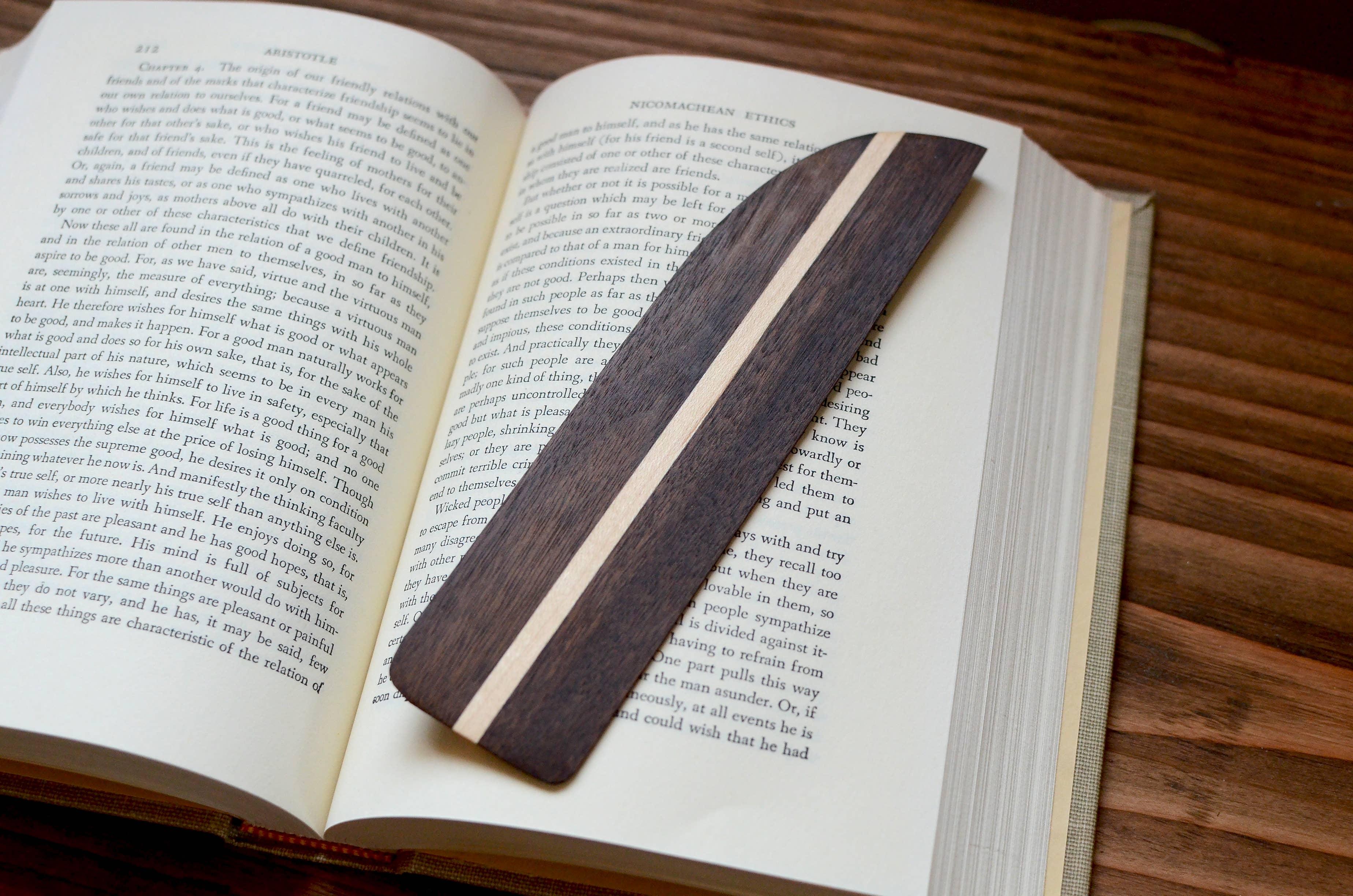 Maple & Walnut Hardwood Bookmark | Trada Marketplace