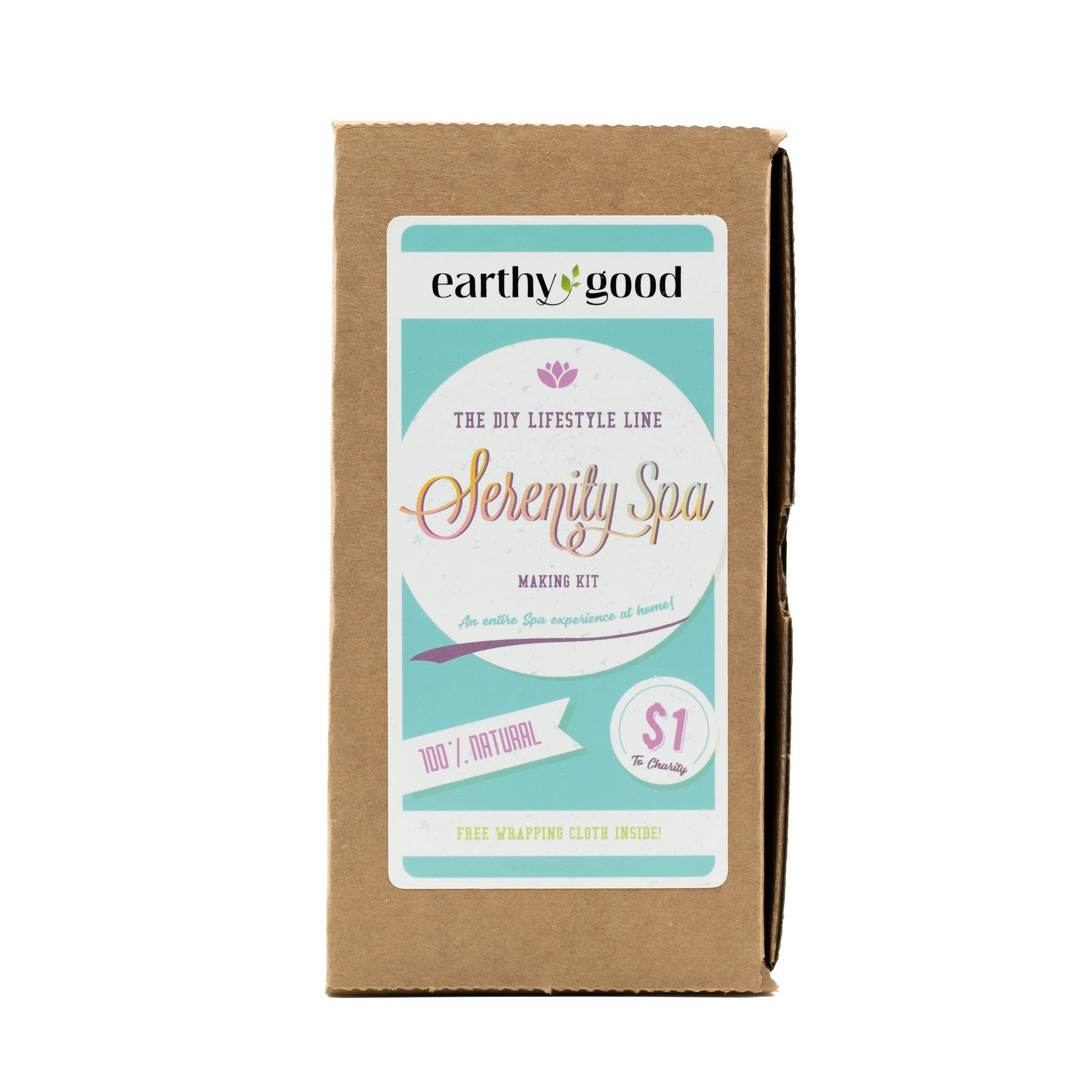 Earthy Good DIY Serenity Spa Kit   Trada Marketplace