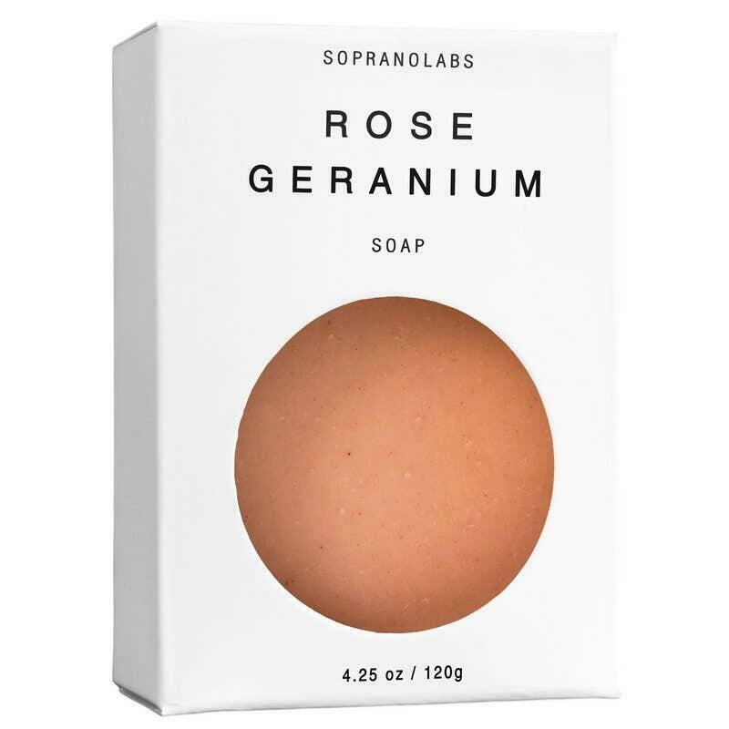 Rose Geranium Vegan Soap. SPA Gift for her   Trada Marketplace