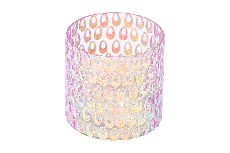 Technicolor Mosaic Glass Votive + Vase   Trada Marketplace