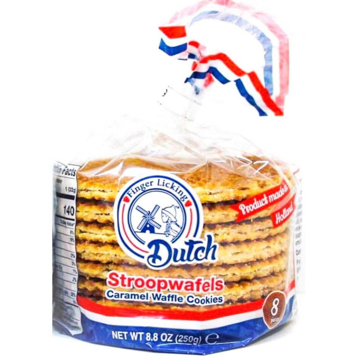 Caramel Stroopwafels, 8-Pack   Trada Marketplace