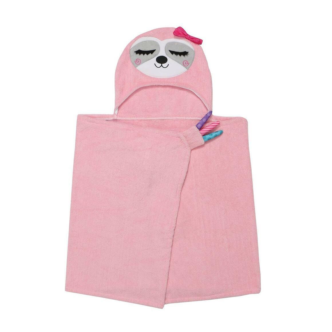 Kids Plus Terry Hooded Bath Towel Sloth 2Y+ | Trada Marketplace