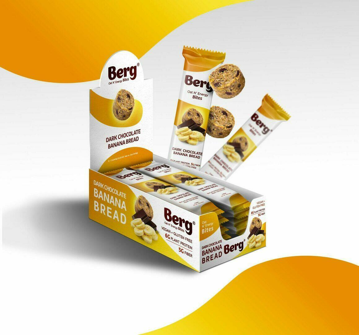 DARK CHOCOLATE BANANA BREAD BITES   Trada Marketplace