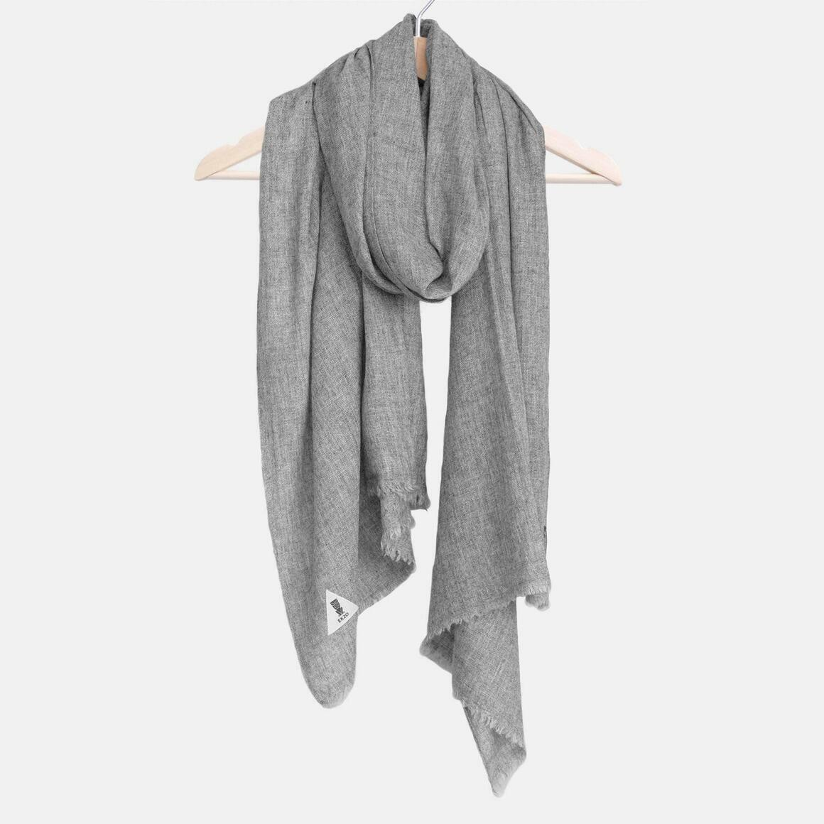 Cashmere Scarf Dark Gray | Trada Marketplace