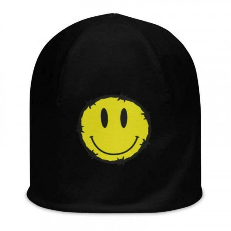 Barbed Smiley Beanie | Trada Marketplace