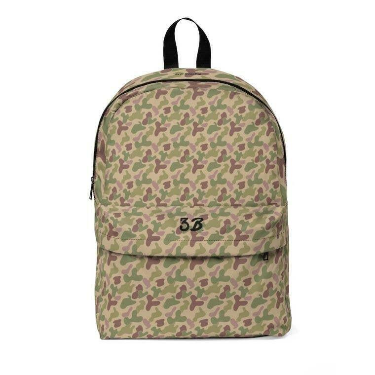 3B Camouflage Classic Backpack | Trada Marketplace