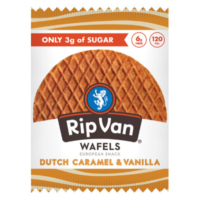 Rip Van Dutch Caramel & Vanilla Stroopwafel Cookies | Trada Marketplace