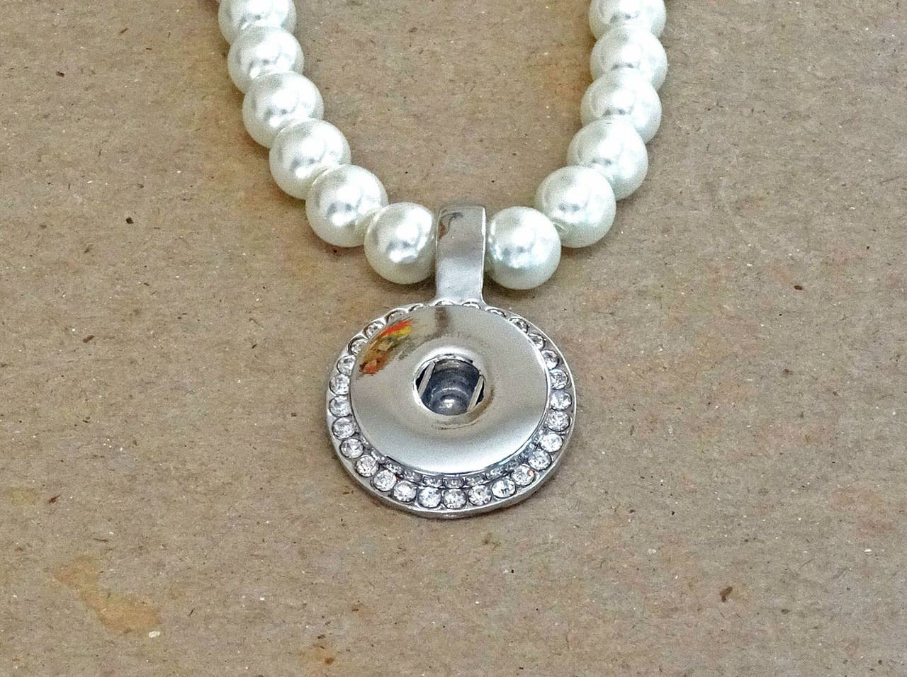 Single Snap Pearl Necklace | Trada Marketplace
