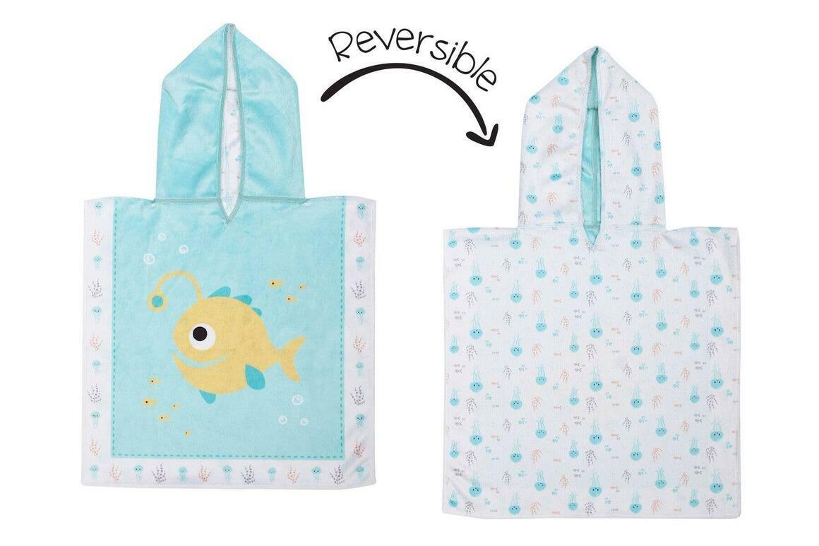 Baby UPF50+ Cover-Up - Fish/Jellyfish | Trada Marketplace