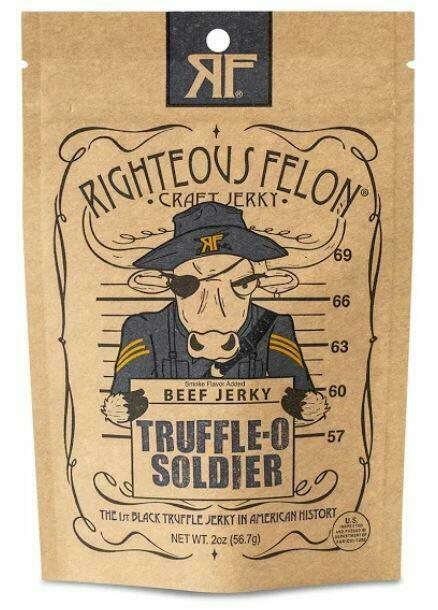 Truffle-O Soldier Beef Jerky | Trada Marketplace