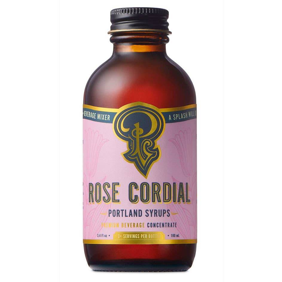 Rose Cordial Syrup (100ml) | Trada Marketplace