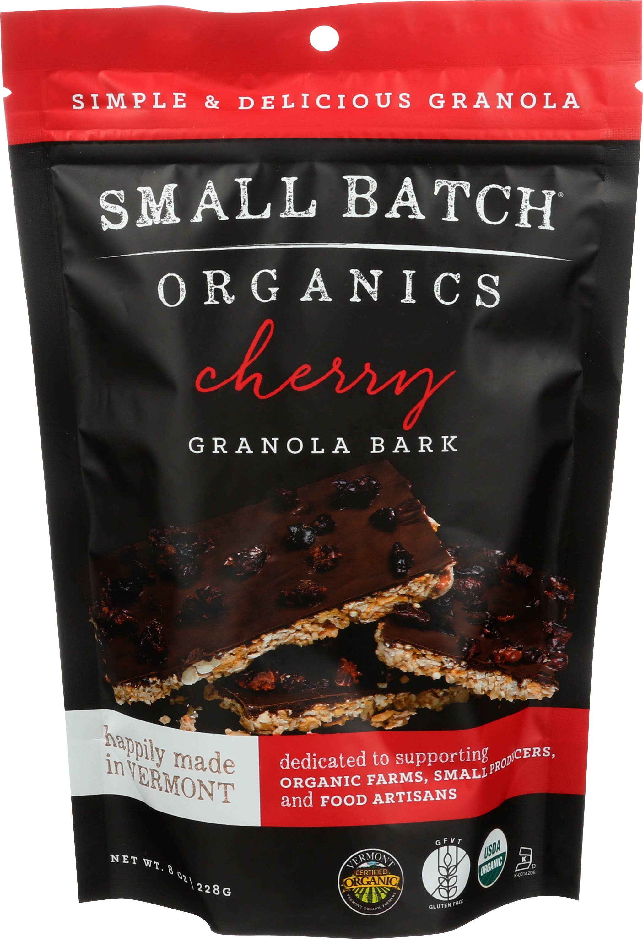 8oz Cherry Granola Bark | Trada Marketplace