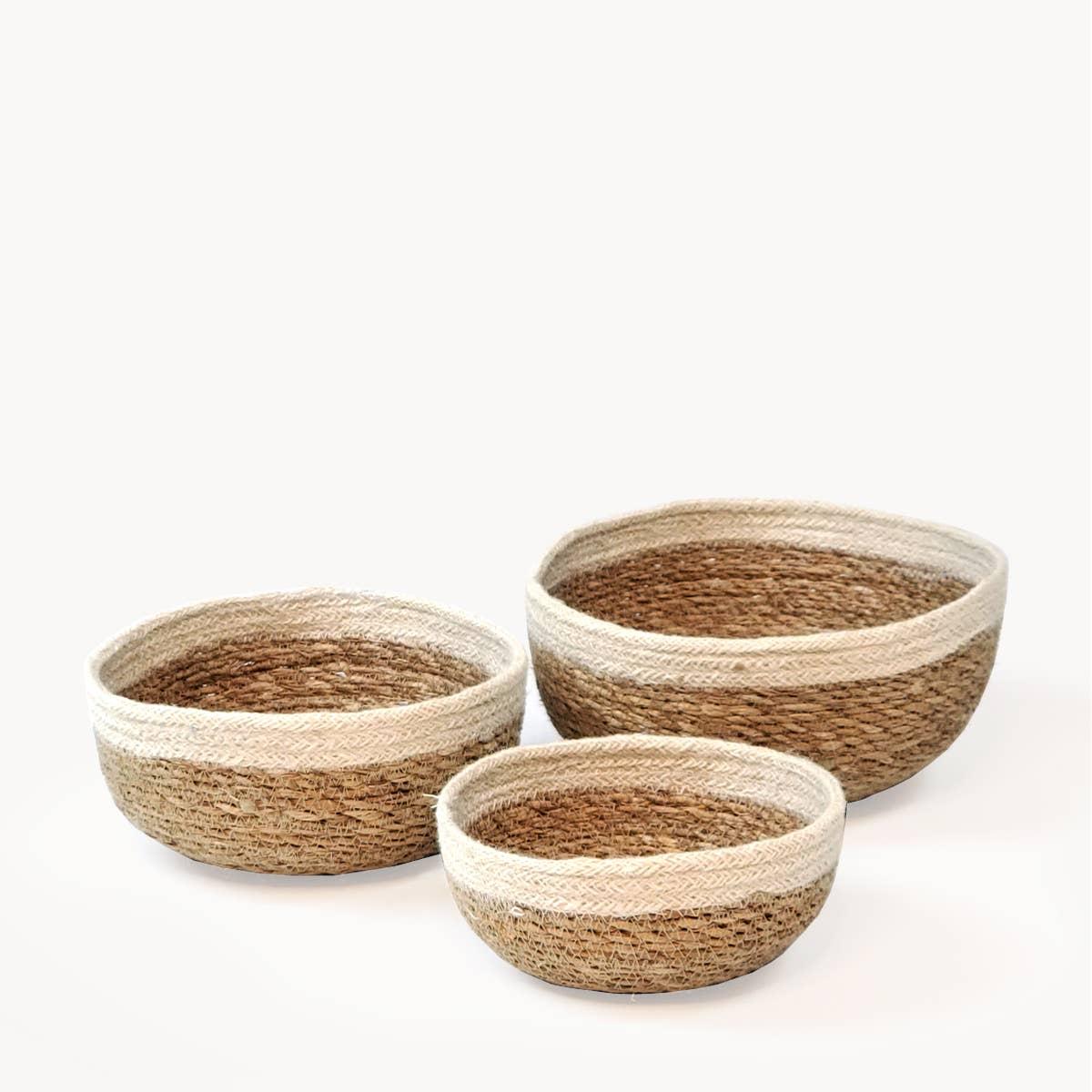 Savar Round Bowl (Set of 3) | Trada Marketplace
