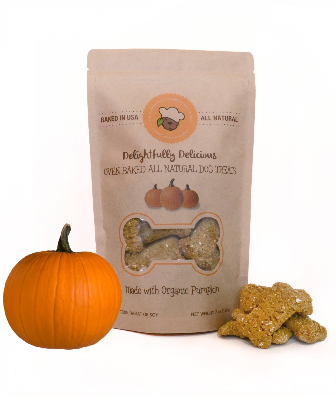 Pumpkin All Natural Dog Treats | Trada Marketplace