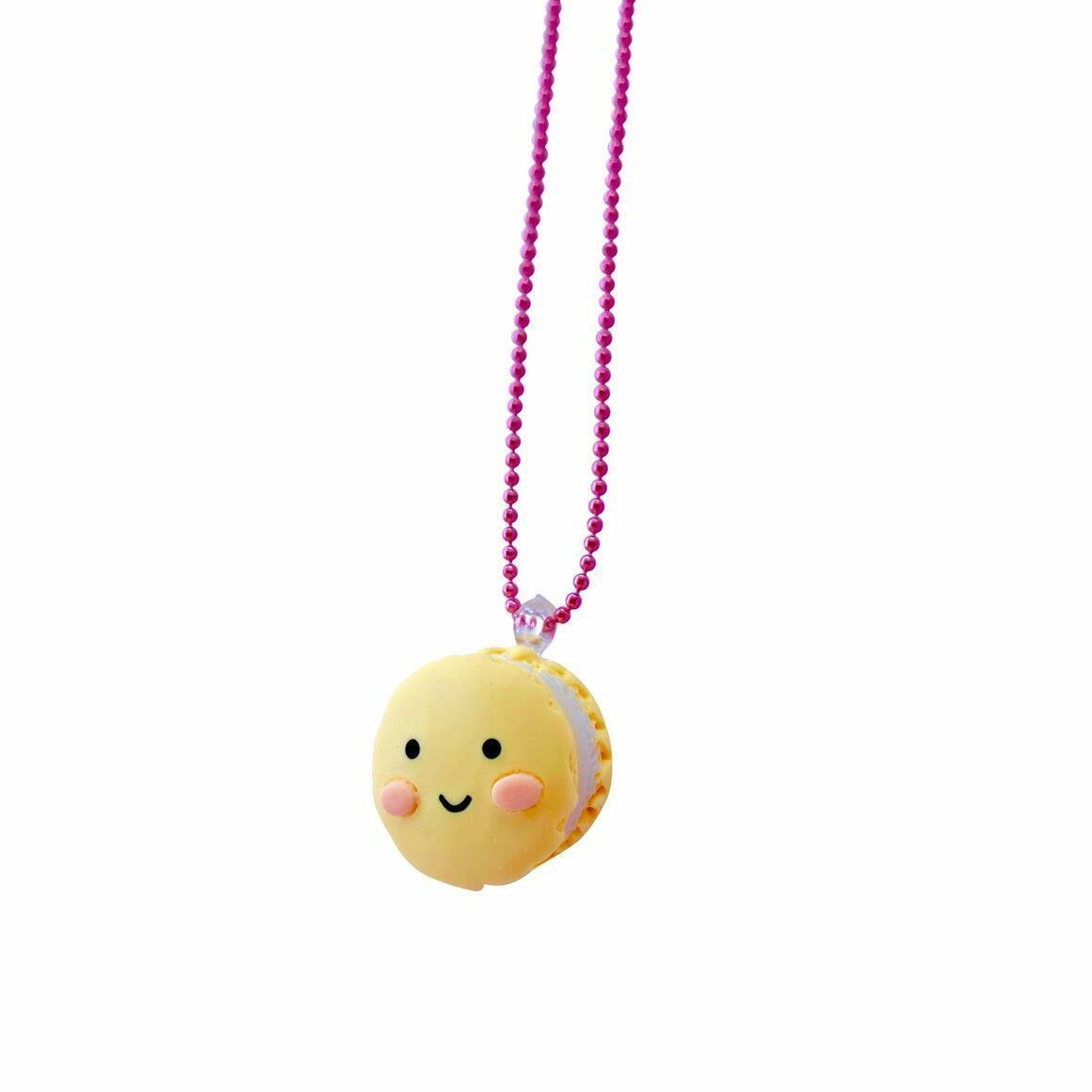 Ltd. Pop Cutie Smiley Macaroon Kids Necklaces - 6 pcs. | Trada Marketplace