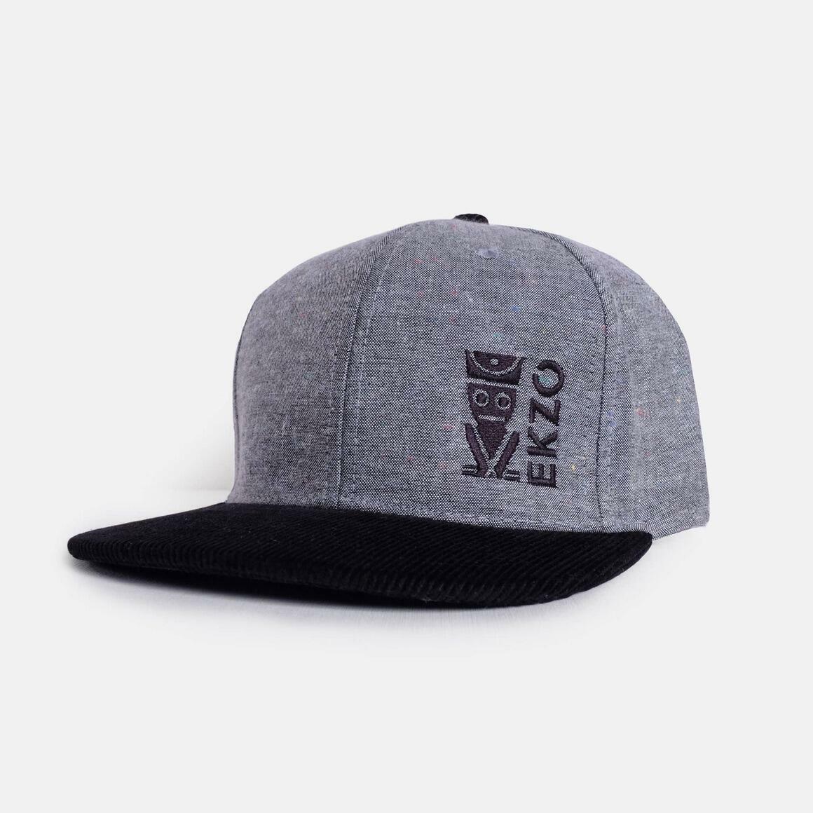 Corduroy Gray Black Hat | Trada Marketplace