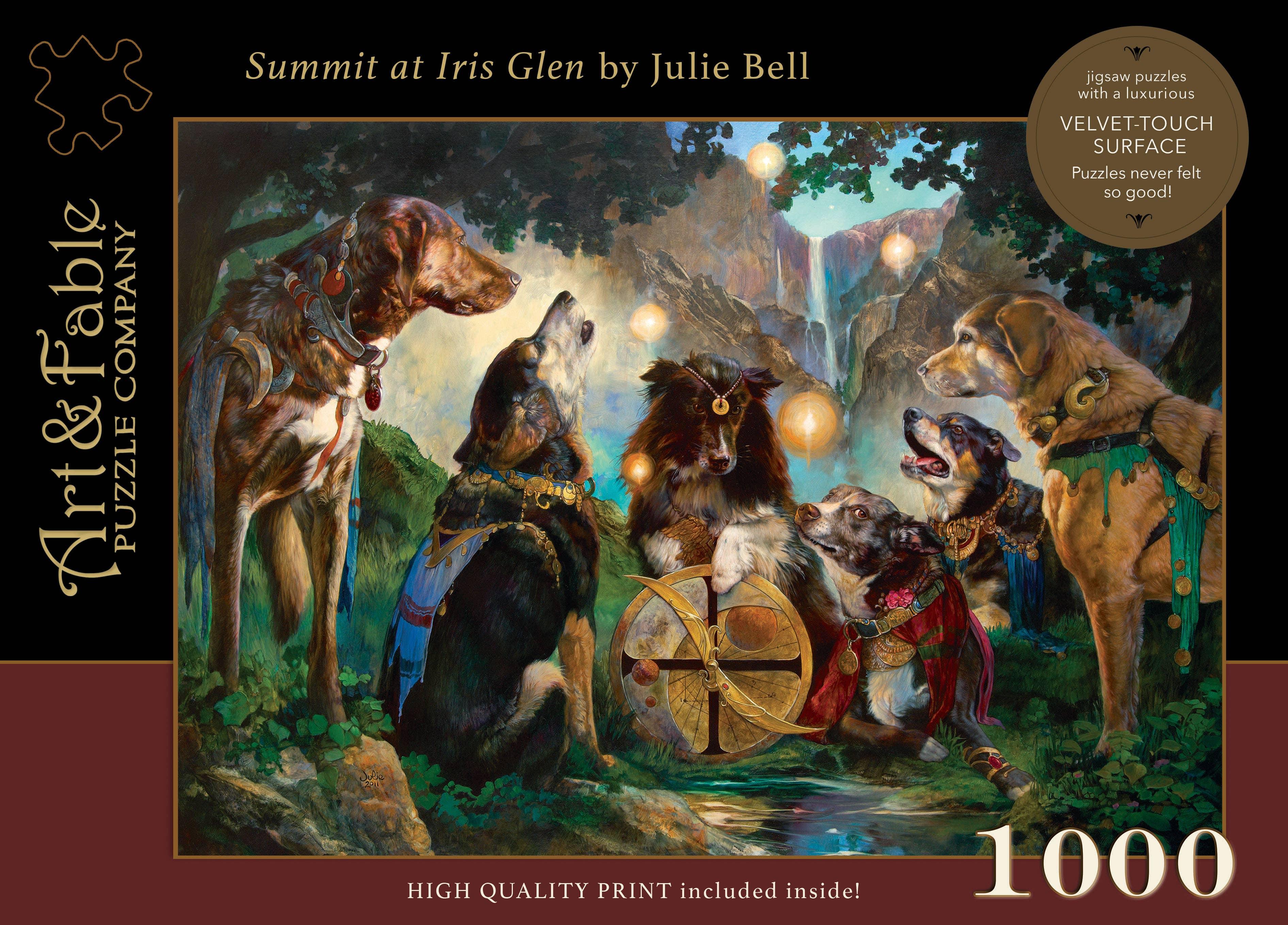 Summit at Iris Glen, 1000-pc Velvet-Touch Puzzle | Trada Marketplace