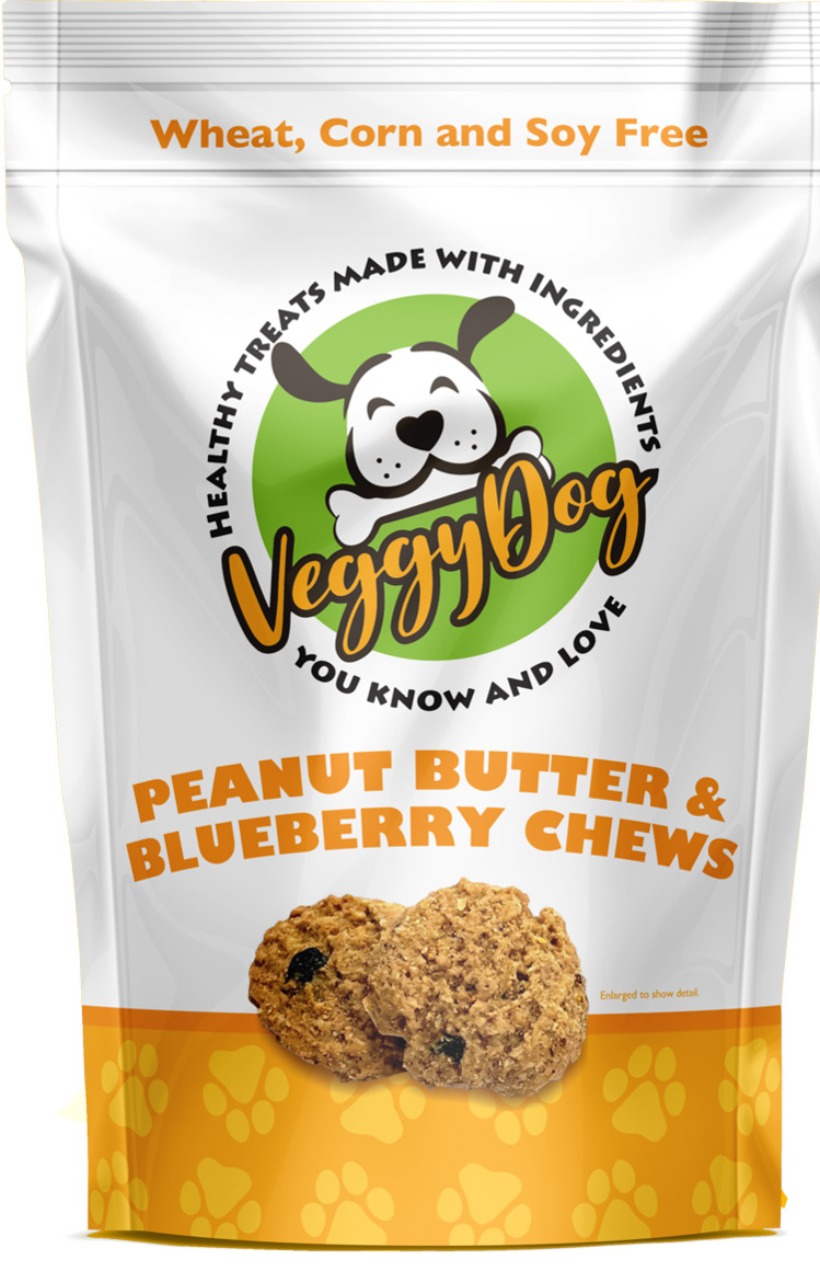 Peanut Butter & Blueberry Chews   Trada Marketplace