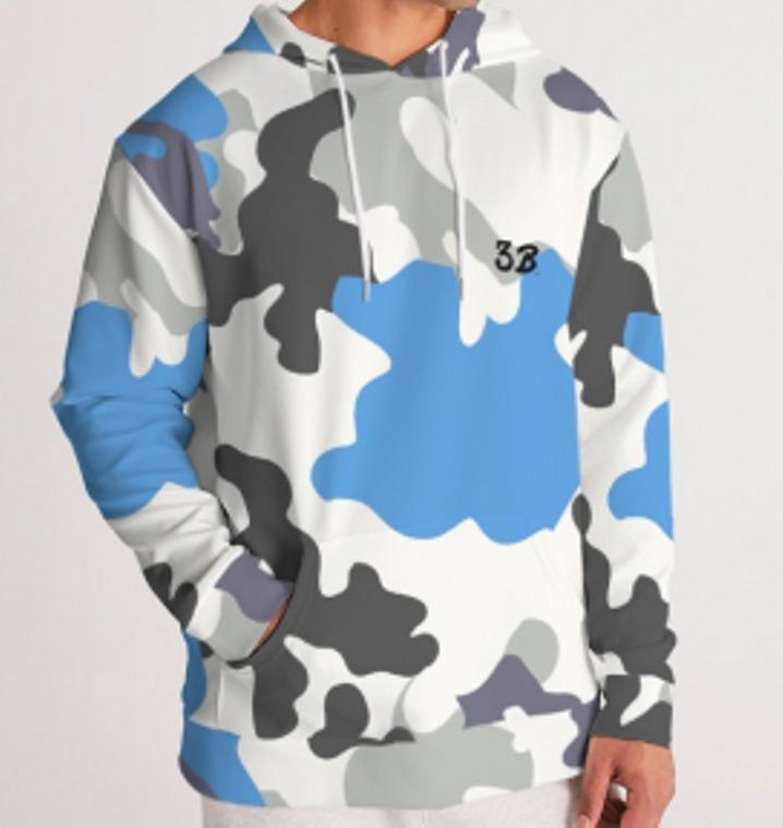 Arctic Camo Men's Hoodie | Trada Marketplace