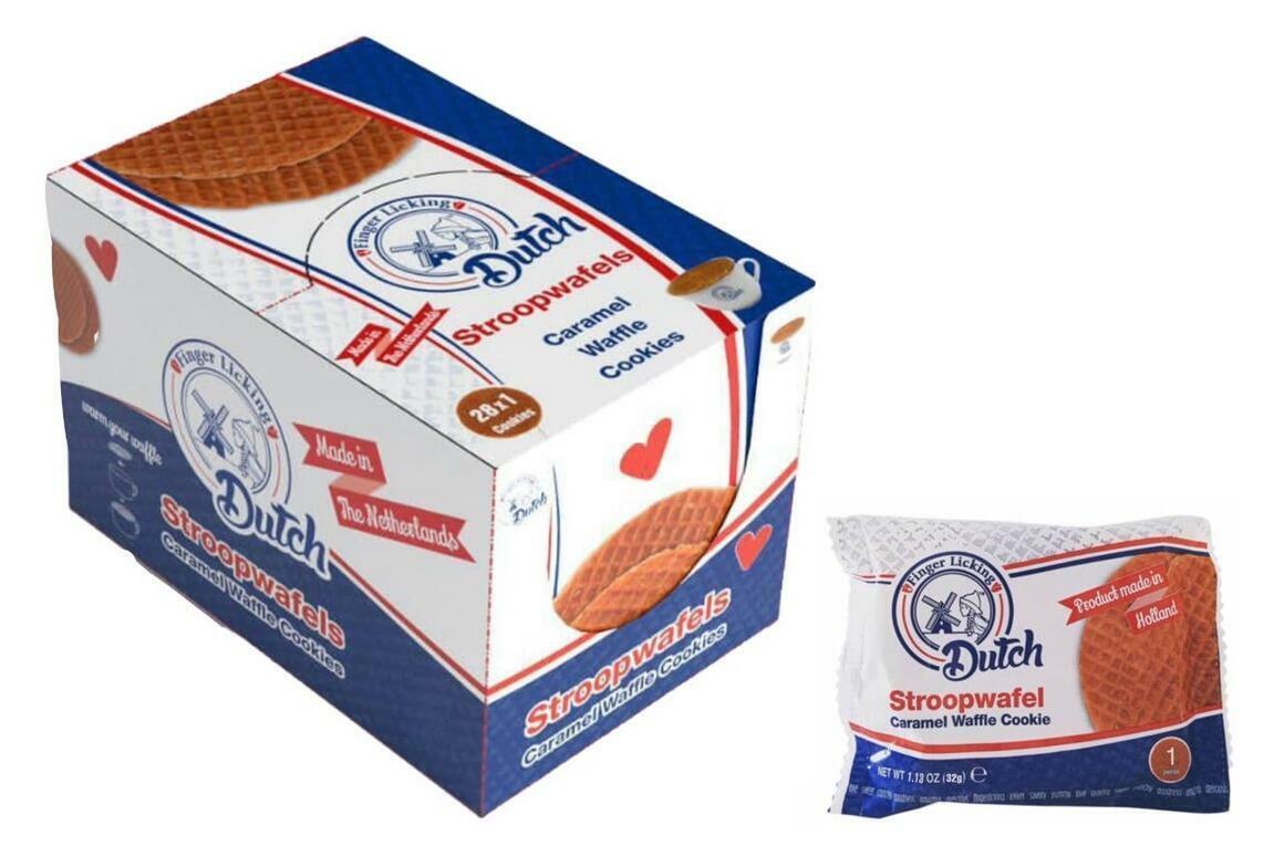 Caramel Stroopwafel Cookies, 28 Ct   Trada Marketplace