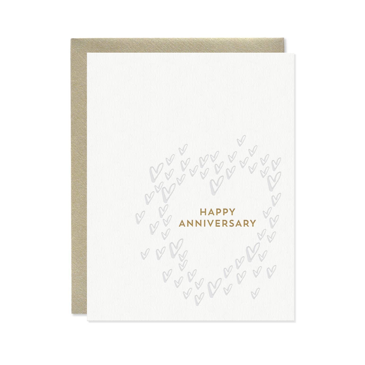 Hearts Anniversary Card | Trada Marketplace